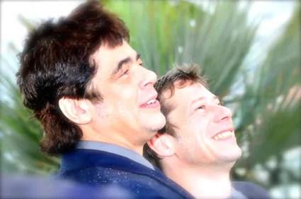 Benicio Del Toro & Mathieu Amalric sous la pluie pour Jimmy P.