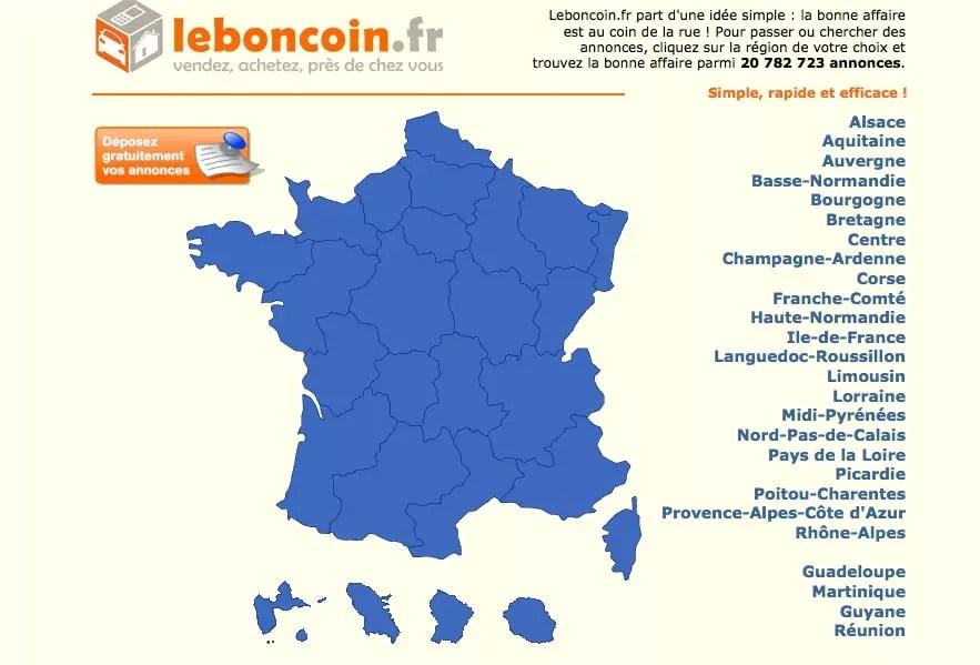 Superb Capture Du0027écran Du Site Du Bon Coin. «