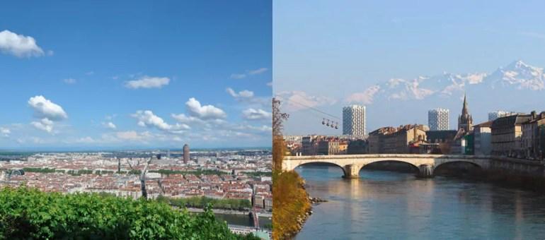 Grenoble vs Lyon : qui a la plus grosse… «métropolisation»