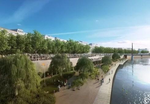 Mesure anti-jeunes ou pro-riverains ? Les «Terrasses de la Saône» seront fermées la nuit