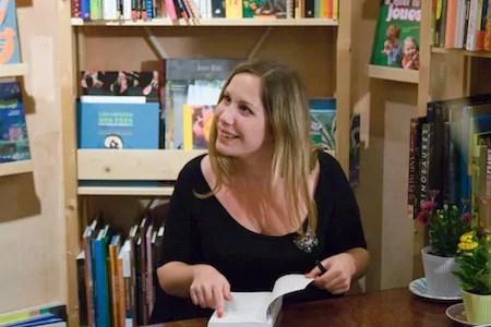 """Tatiana Arfel, auteure de """"La deuxième vie d'Aurélien Moreau""""."""