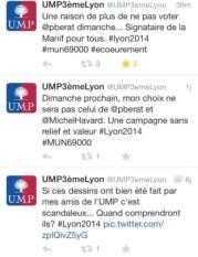 Des comptes trolls dans la campagne municipale lyonnaise.
