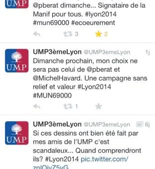 Les faux comptes Twitter de la campagne municipale à Lyon