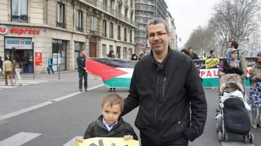 Manif contre islamophobie-Lyon-mars-14-2