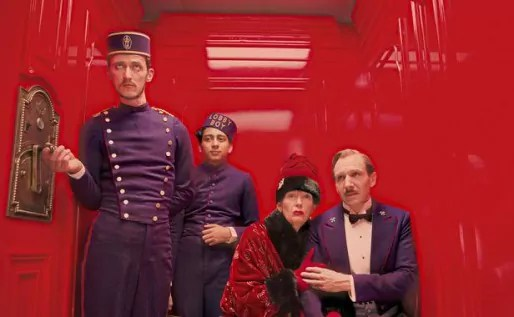 The Grand Budapest Hotel, de Wes Anderson.