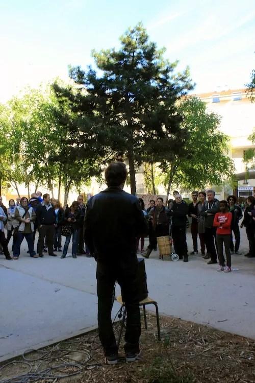 Chaque membre des vingt écoles concernées a pris la parole. Ils invitent à une prise de conscience de la part des pouvoirs publics