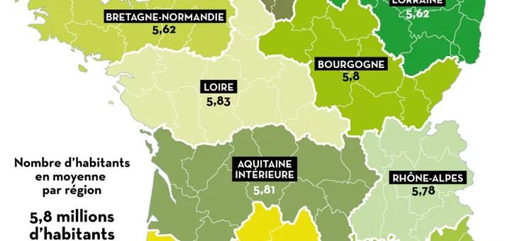 Redécoupage des régions : des cartes de France imaginées par Libération