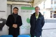 Benoit Germanos et Aymeric Masson, fondateurs de Someo. © Rue89Lyon