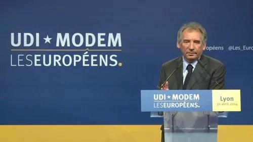A Lyon, l'UDI et le MoDem en meeting pour une Europe libérale