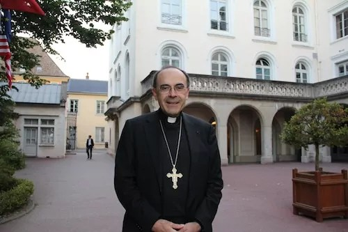 Le cardinal Philippe Barbarin © Pierre Maier/Rue89Lyon.