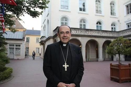 Le cardinal Philippe Barbarin © Pierre Maier/Rue89Lyon.