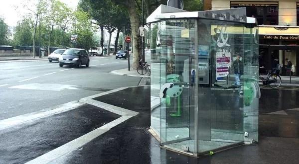 Des cabines téléphoniques bientôt transformées en bornes wifi ?