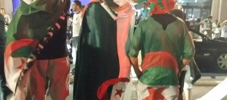 Algérie-Russie à Lyon : fête, projectiles, lacrymo et canons à eau