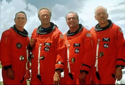 """Space Cowboys"" de Clint Eastwood."