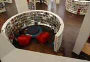 La bibliothèque d'Amsterdam est un exemple en matière de bibliothèque tiers-lieu. Capture d'écran sur le site bbf.