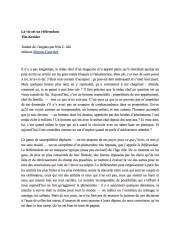 La Vie est un référendum, de Tim Kreider. Extrait. Edition Moyen Courrier.