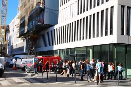Le bâtiment de l'IUT de Lyon 3 a accueilli ses premiers étudiants © Laura Steen / Rue89Lyon