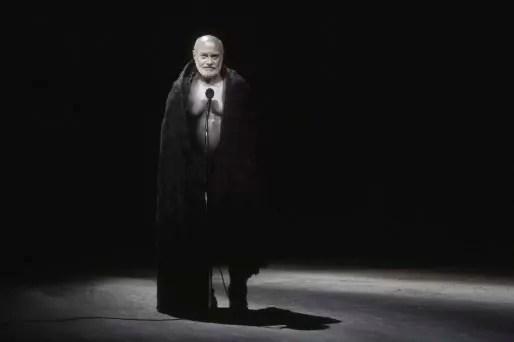 "Jean-Marc Avocat dans ""Mon Traître"". ©Mario del Curto."
