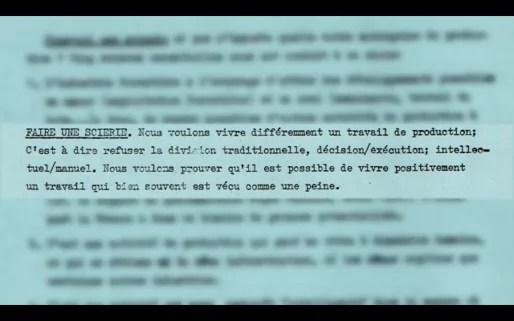 Extrait du texte de genèse du projet d'Ambiance Bois. (extrait du documentaire)