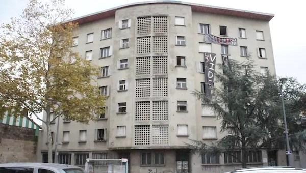 L'immeuble vide «réquisitionné» à Lyon 8e rapidement expulsé