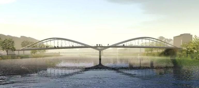 Le pont Schuman à Lyon, destiné aux voitures de trop ?