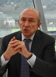 Gérard COLLOMB, président de la Métropole de Lyon et maire de Lyon
