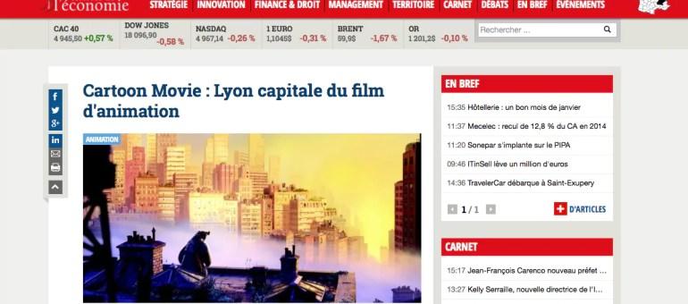 Cartoon Movie ou le festival du film d'animation bien installé à Lyon