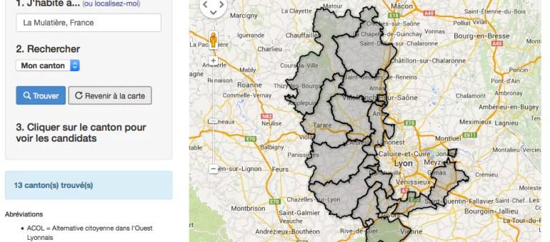 Départementales 2015 dans le Rhône : pour qui allez-vous voter dimanche ?