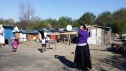 Une soixantaine de Roms de Roumanie vivent depuis octobre 2014 dans ce bidonville. ©LB/Rue89Lyon