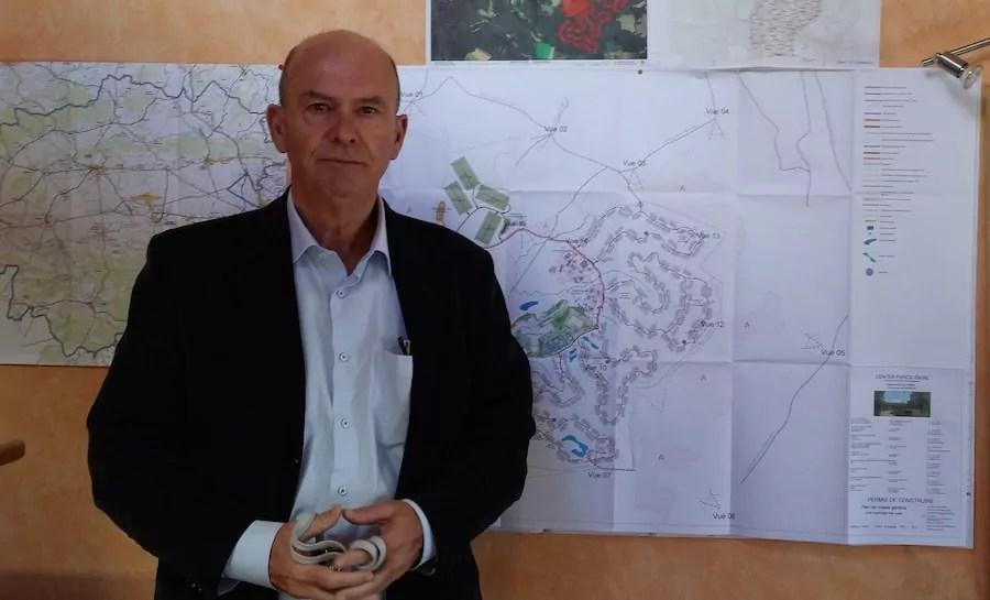 Le maire de Roybon, Serge Perraud ©LB/Rue89Lyon