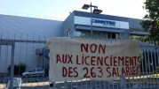 L'entrée de l'usine Cenntro Motors à Gerland le 25 juin 2015. ©LB/Rue89Lyon