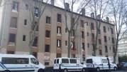 Une semaine avant son expulsion, le squat de Gerland avait connu une descente de police massive. ©LB/Rue89Lyon