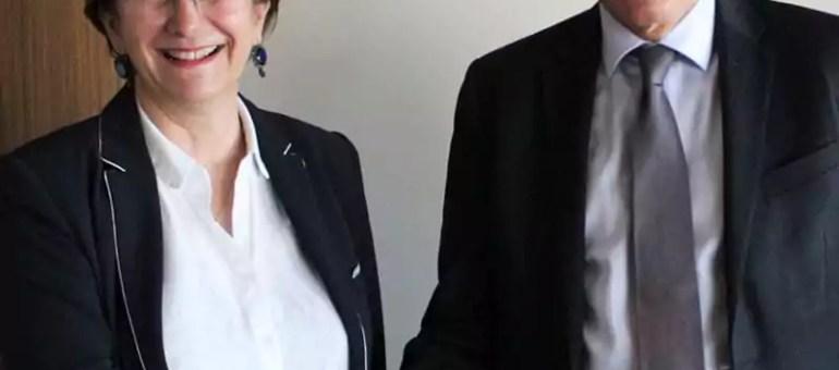 La présidente du Sytral au côté de Martine Aubry pour dire «trop, c'est trop !»
