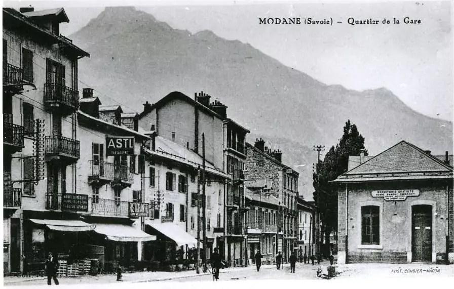 Le dortoir gratuit pour les immigrés au début du XXe siècle. Photo : coll. Peynichou