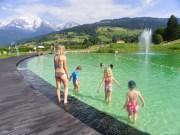 Le plan d'eau biotope de Combloux, en Haute-Savoie. ©Office du tourisme de Combloux