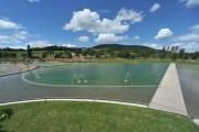 La baignade biologique du lac des Sapins ©LB/Rue89Lyon