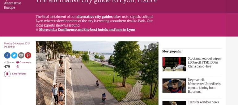 Le «Lyon alternatif» vu par le journal anglais The Guardian