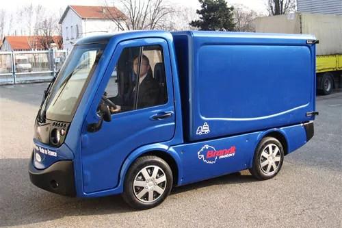 Le véhicule électrique Citelec. ©DR