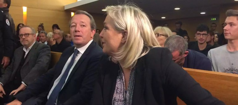 #JeSuisMarine: au procès de sa présidente, le FN récupère la «liberté d'expression»