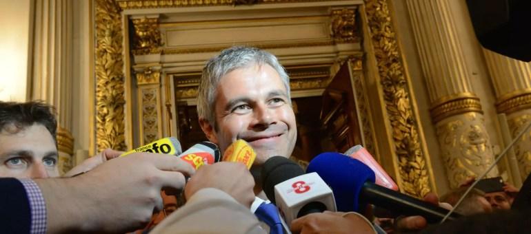 Tweet or not tweet, Laurent Wauquiez renonce à punir les conseillers régionaux