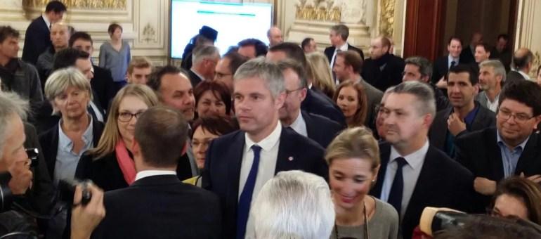 En Auvergne-Rhône-Alpes, Laurent Wauquiez gagne les élections