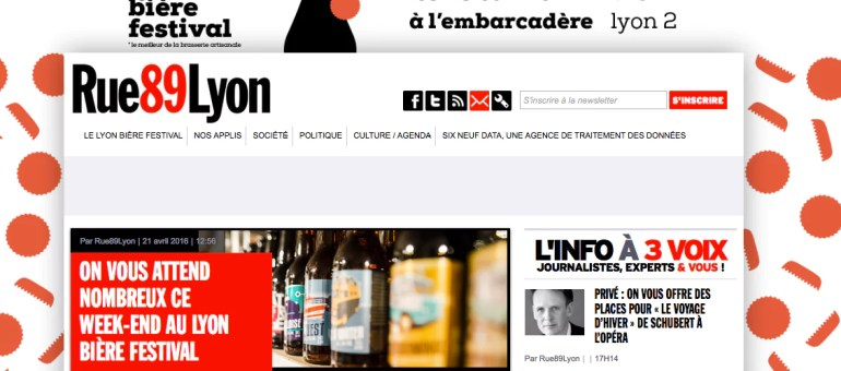 Bière, traitement des données et actu régionale: que brasse Rue89Lyon ?