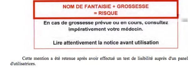 Capture d'écran du rapport de l'Igas