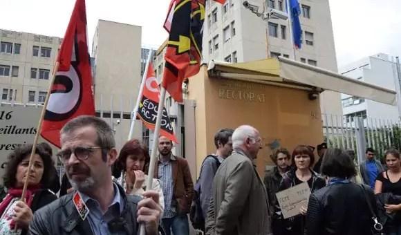 «Rendez-nous nos surveillants» : le cri des lycées de l'académie de Lyon