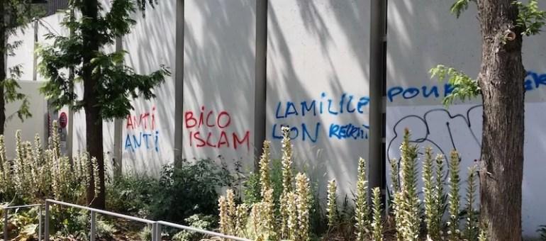 Tags racistes et islamophobes dans Lyon : le préfet attendu à la Grande Mosquée