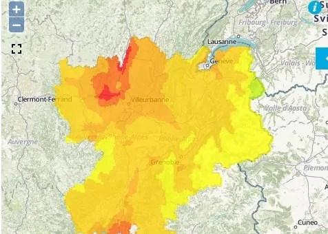 A Lyon, deuxième pic de pollution à l'ozone de l'été