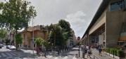 La rue du professeur Rollet, devant Lyon 3, où le GUD colle régulièrement ses affiches et autocollants. Capture d'écran Street View