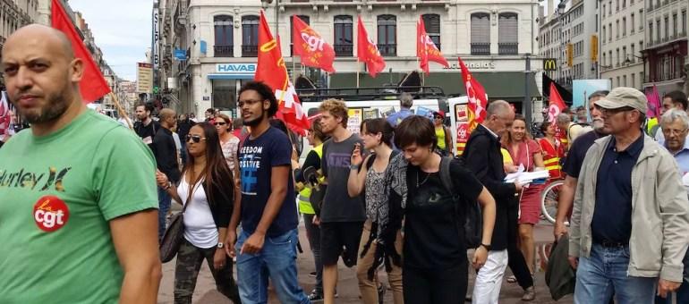 A Lyon, une petite manif de rentrée contre la loi travail