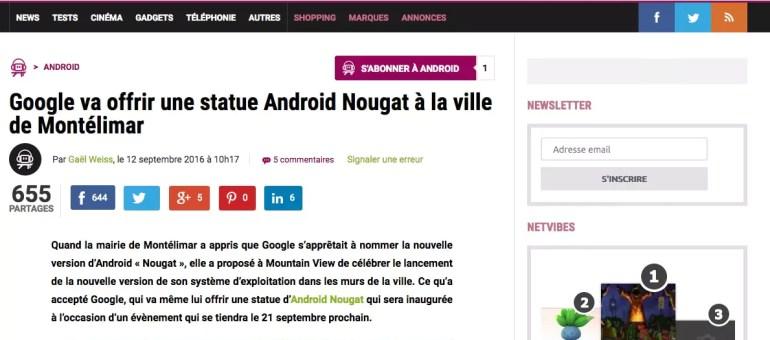 Google à Montélimar pour sa nouvelle version d'Android baptisée «Nougat»