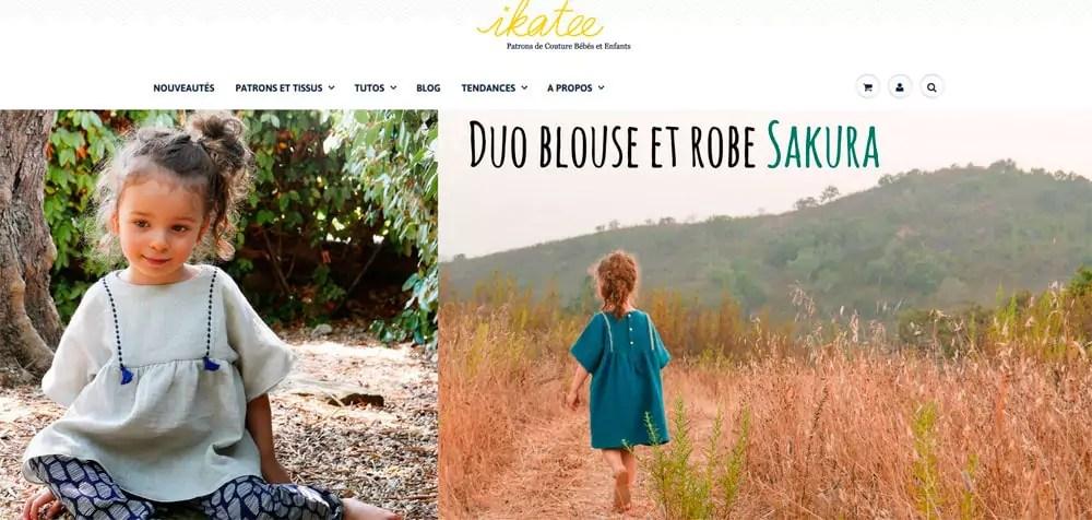 Ikatee propose tutoriels et patrons pour fabriquer des vêtements pour enfants. © AJ/Rue89 Lyon